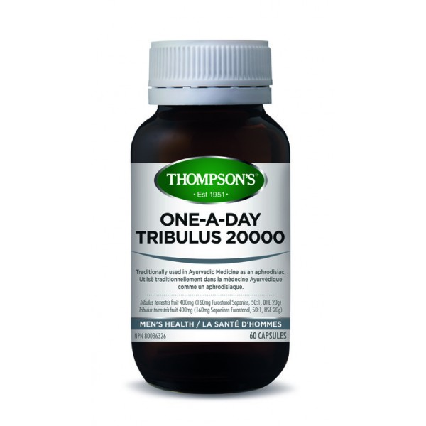 Thompson's Tribulus 20000 One-A-Day 60 Capsules