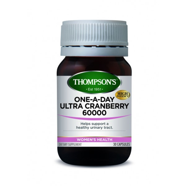 Thompson's Ultra Cranberry One-A-Day 30 Capsules