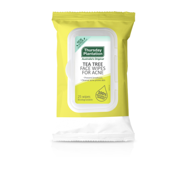 Thursday Plantation Tea Tree Acne Face Wipes 25 Wipes