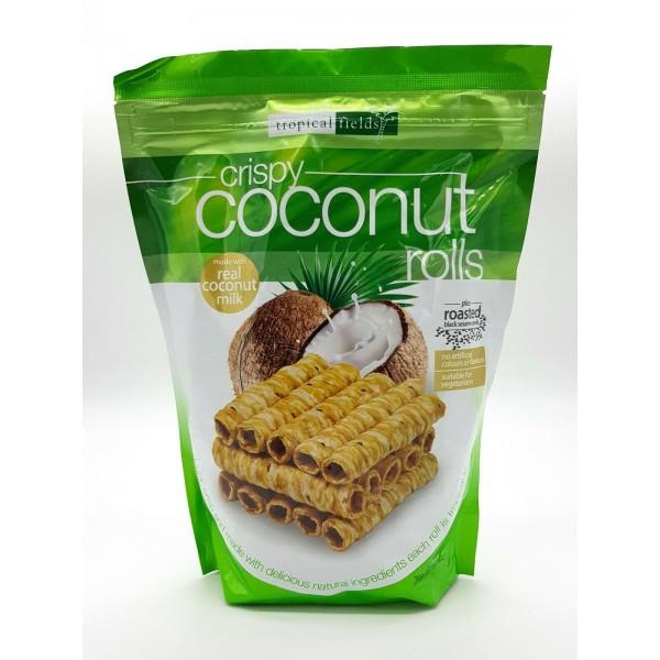 Tropical Fields Crispy Coconut Rolls 285g