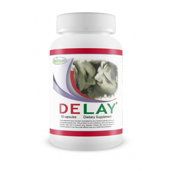 Ultra Health Delay 60 Capsules
