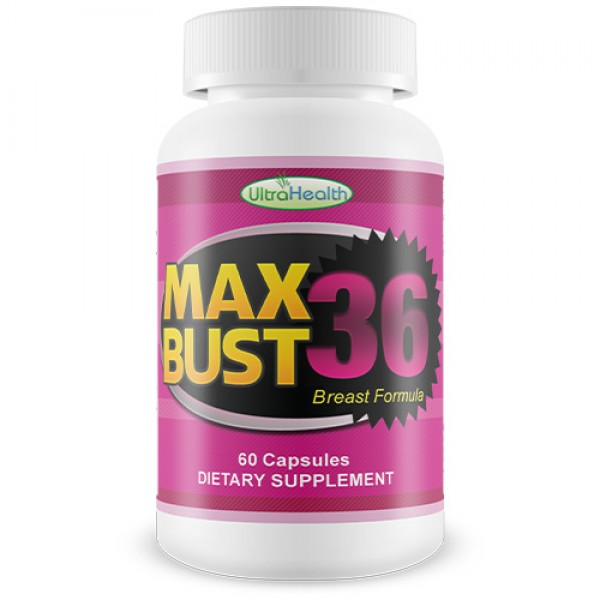 Ultra Health MaxBust36 Breast Enhancer 60 Capsules
