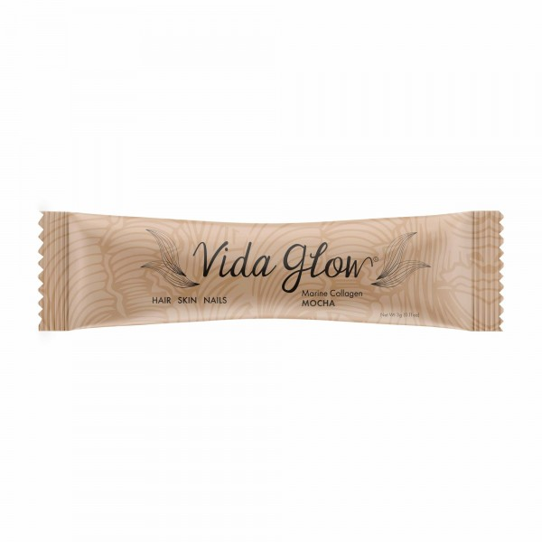 Vida Glow Natural Marine Collagen Mocha 30 Sachets