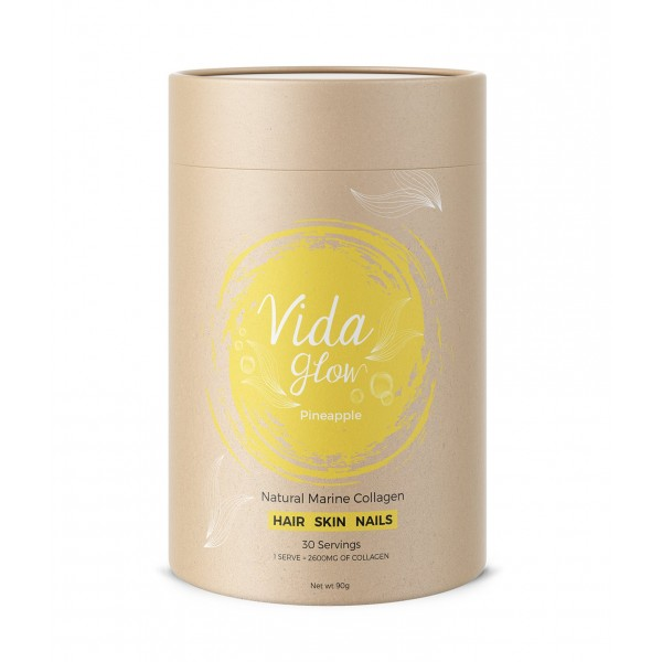 Vida Glow Natural Marine Collagen Pineapple 30 Sachets