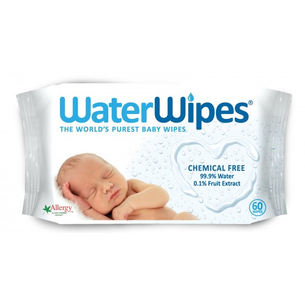 Baby WaterWipes 60 Wipes