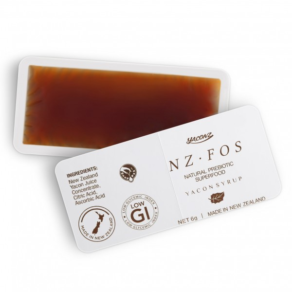 NZFOS+ Prebiotic Yacon Concentrate Snap Pak 6g 30 Packs